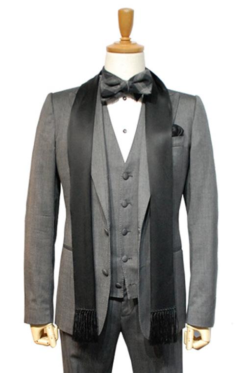 DOLCE & GABBANA (ドルチェ&ガッパーナ) スーツ size44 GREY トータルコーディネートA