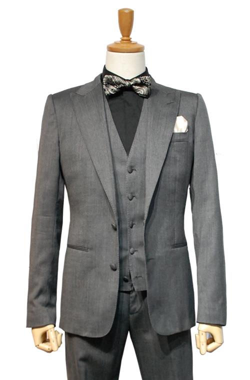 DOLCE & GABBANA (ドルチェ&ガッパーナ) スーツ size44 GREY トータルコーディネートB