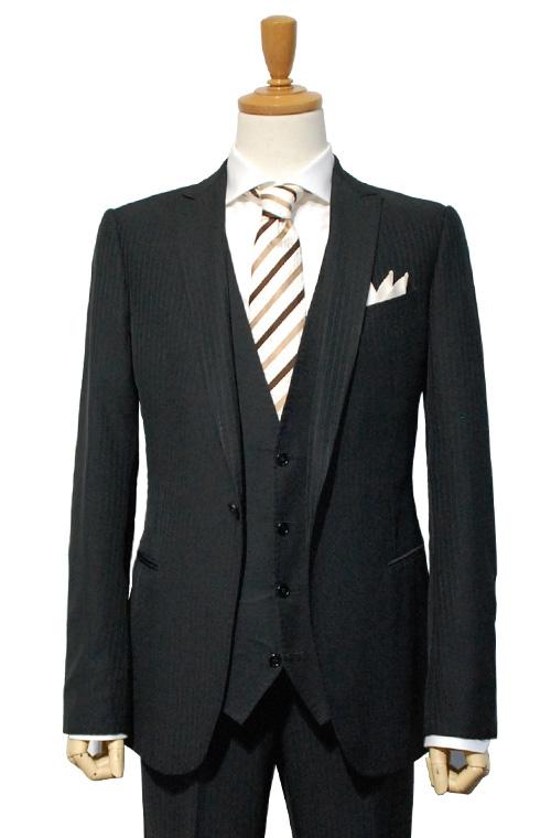 ARMANI COLLEZIONI (アルマーニコレツィオーニ) スーツ size50 BLACK トータルコーディネート B