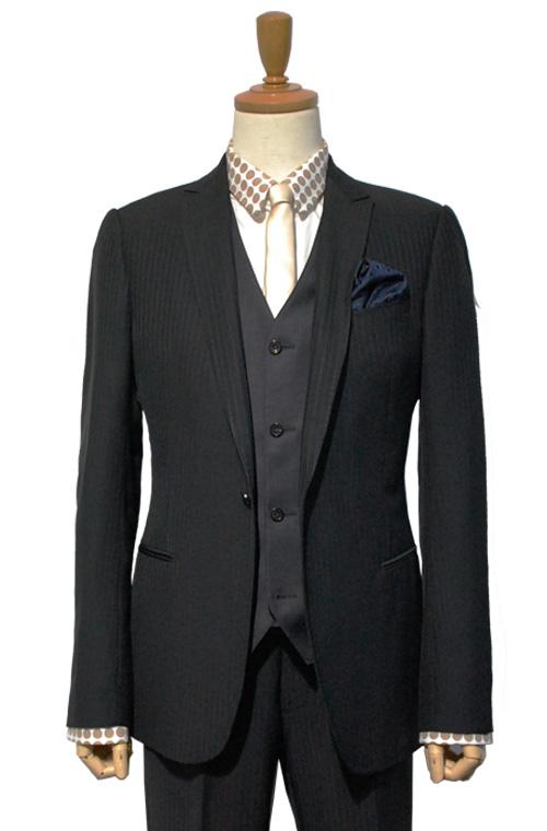 ARMANI COLLEZIONI (アルマーニコレツィオーニ) スーツ size50 BLACK トータルコーディネート C