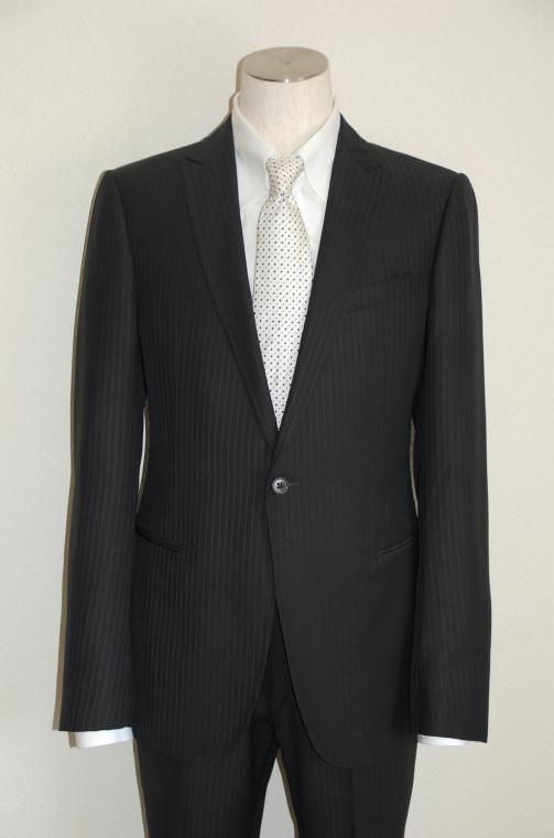 ARMANI COLLEZIONI (アルマーニコレツィオーニ) スーツ size50 BLACK トータルコーディネート A