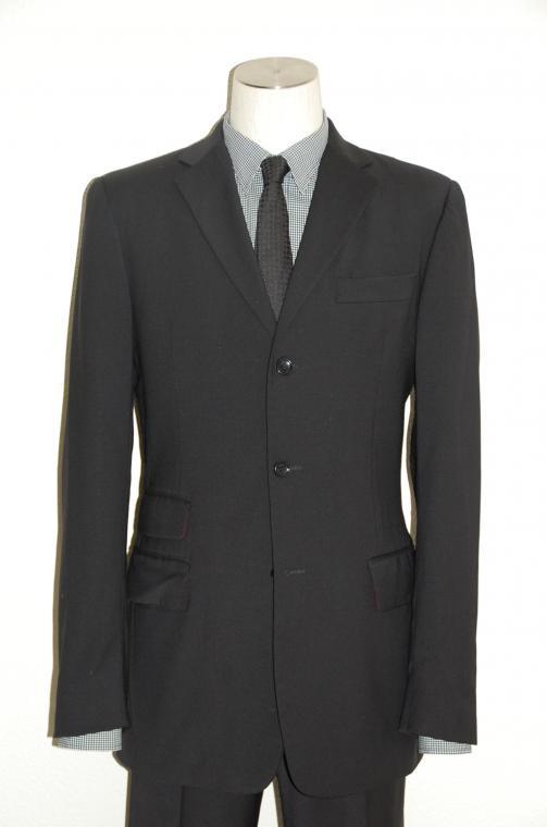 D&G (ディー&ジー) スーツ size44 BLACK トータルコーディネート A